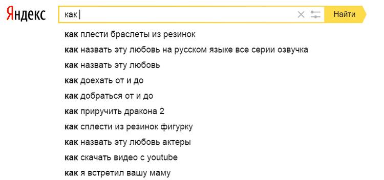 Как Яндекс