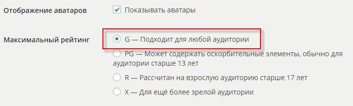 Рейтинг аватаров