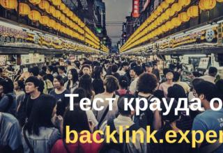 backlink.expert — тест услуги крауд-маркетинга